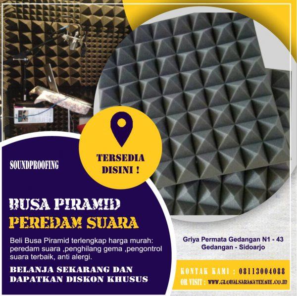 Busa Piramid Peredam Suara