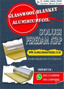 Jual Glasswool Foil 5cm