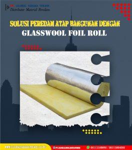 Glasswool Foil Roll 25mm