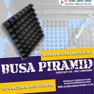 Busa Peredam Suara Piramid